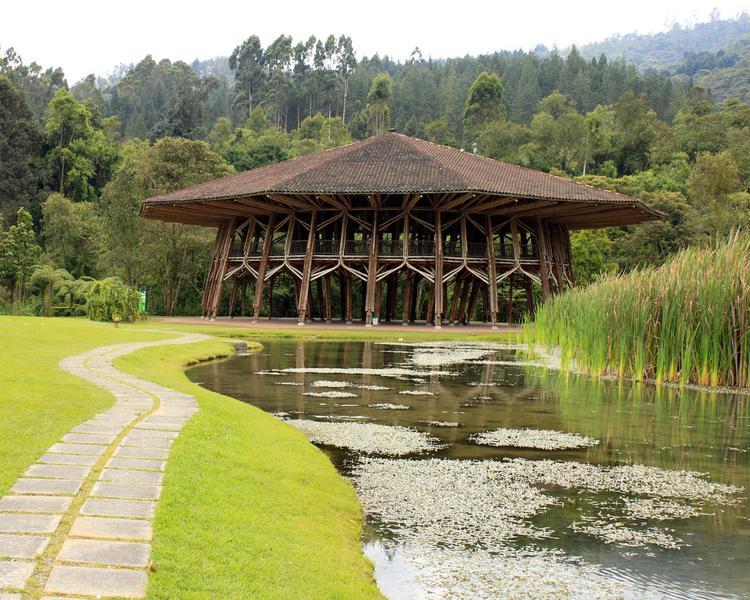 PABELLÓN EN GUADUA ESTELAR Recinto del Pensamiento Hotel & Centro de Convenciones